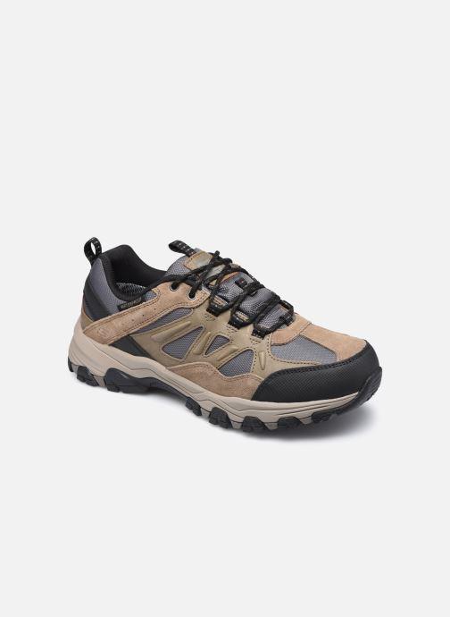 Chaussures de sport Skechers Selmen Enago Marron vue détail/paire