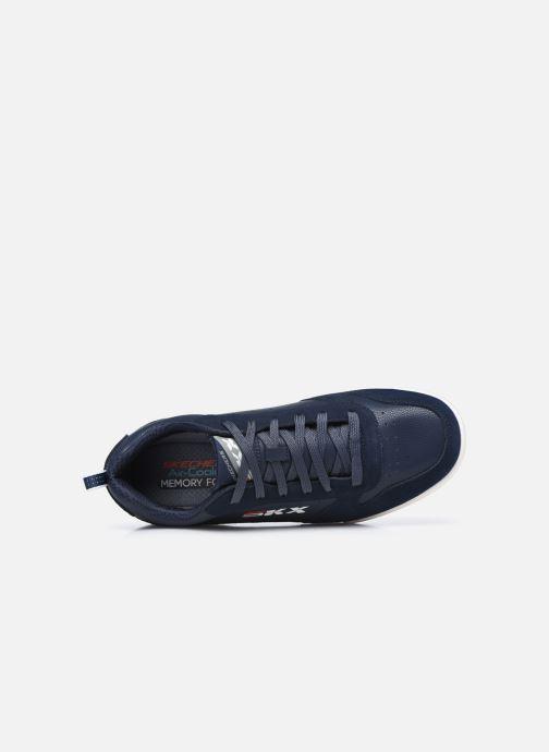 Sneaker Skechers Endour Stallinger weiß ansicht von links