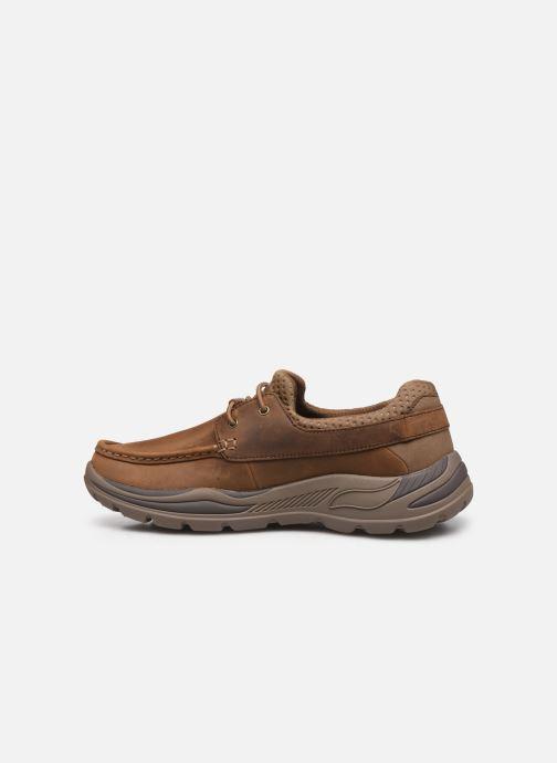 Chaussures à lacets Skechers Arch Fit Motley Hosco Marron vue face