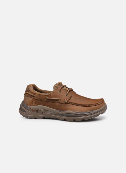 Chaussures à lacets Skechers Arch Fit Motley Hosco Marron vue derrière