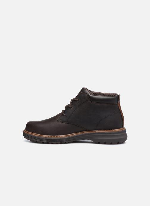 Stiefeletten & Boots Skechers Wenson braun ansicht von vorne
