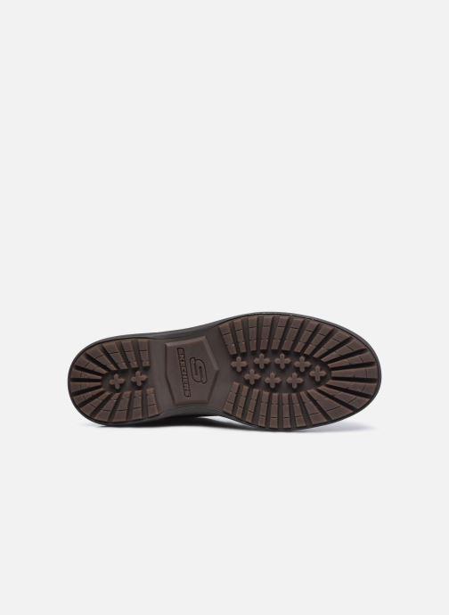 Stiefeletten & Boots Skechers Wenson braun ansicht von oben