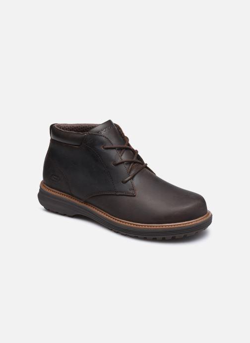 Bottines et boots Skechers Wenson Marron vue détail/paire