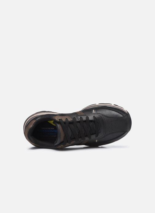 Sneaker Skechers Romago - Elmen schwarz ansicht von links
