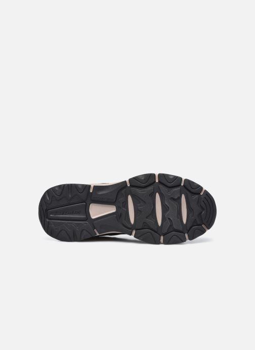 Sneaker Skechers Romago - Elmen schwarz ansicht von oben