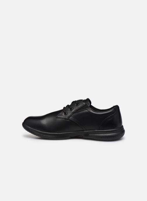 Zapatos con cordones Skechers Darlow Pace Negro vista de frente