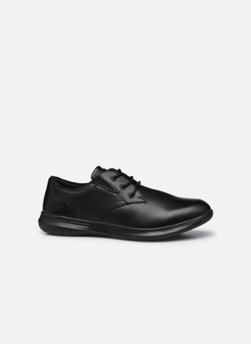 Zapatos con cordones Skechers Darlow Pace Negro vistra trasera