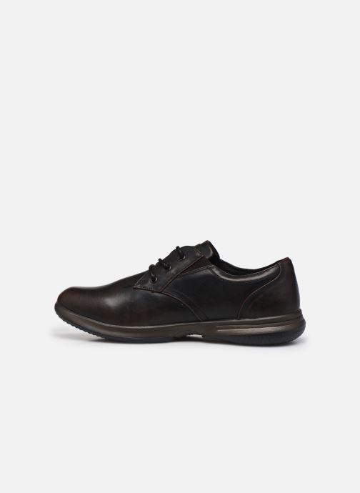 Zapatos con cordones Skechers Darlow Pace Marrón vista de frente
