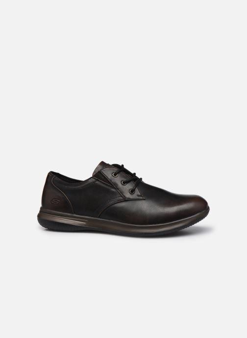 Zapatos con cordones Skechers Darlow Pace Marrón vistra trasera