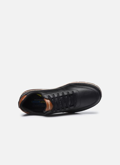 Sneakers Skechers Evenston Low Nero immagine sinistra