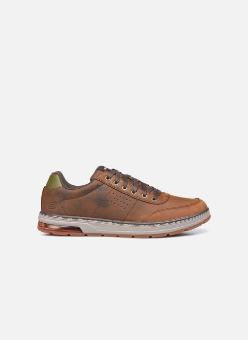 Baskets Skechers Evenston Low Marron vue derrière