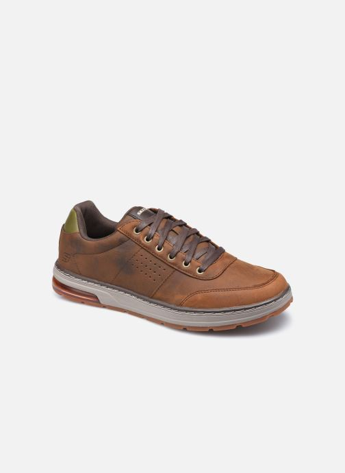 Baskets Skechers Evenston Low Marron vue détail/paire