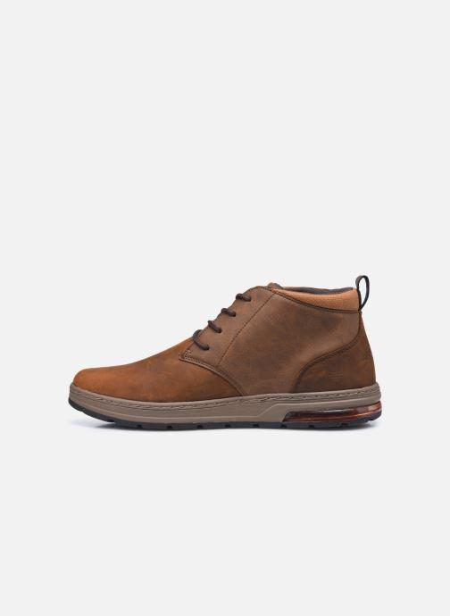 Bottines et boots Skechers Evenston High Marron vue face