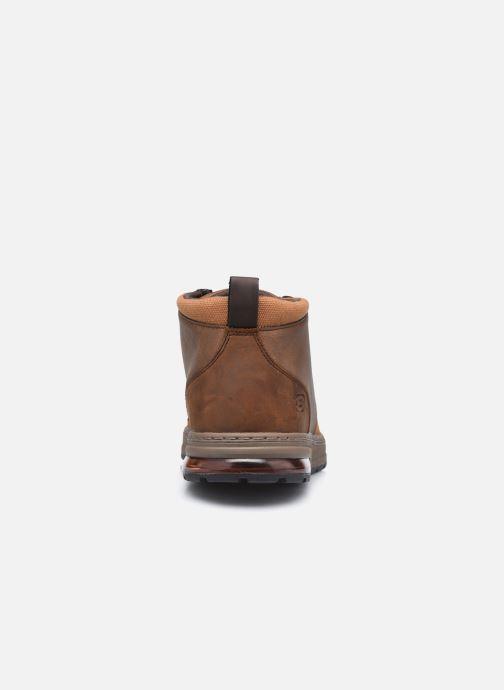 Bottines et boots Skechers Evenston High Marron vue droite