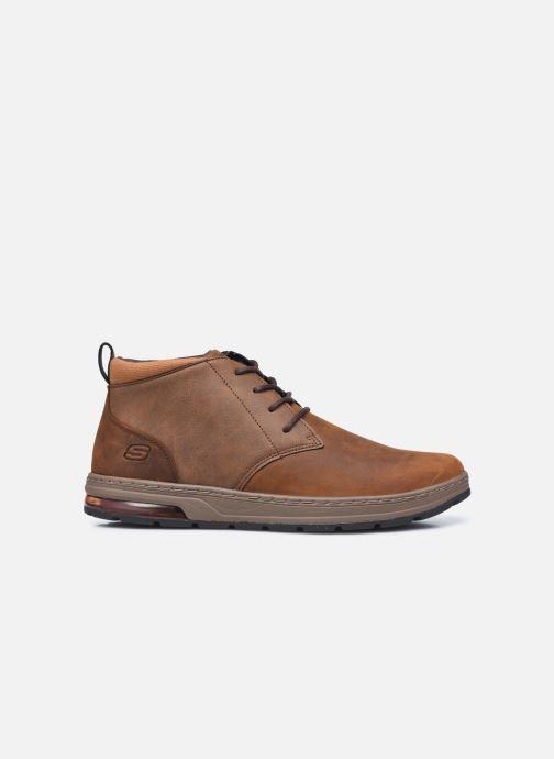 Bottines et boots Skechers Evenston High Marron vue derrière