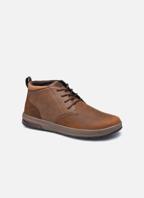Bottines et boots Skechers Evenston High Marron vue détail/paire