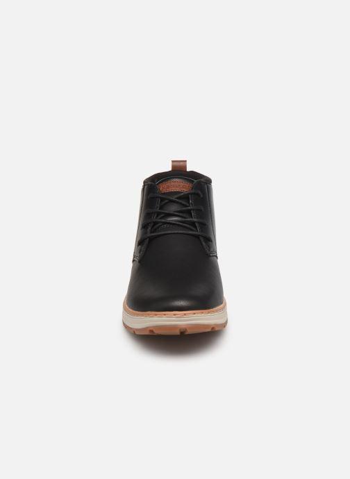 Stiefeletten & Boots Skechers Evenston High schwarz schuhe getragen