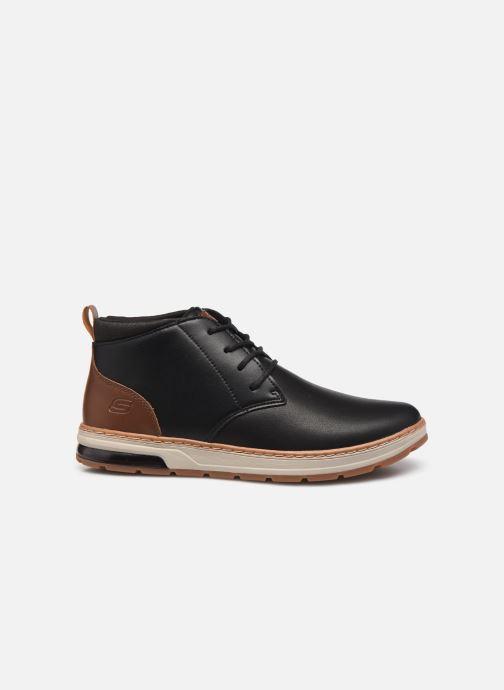 Stiefeletten & Boots Skechers Evenston High schwarz ansicht von hinten