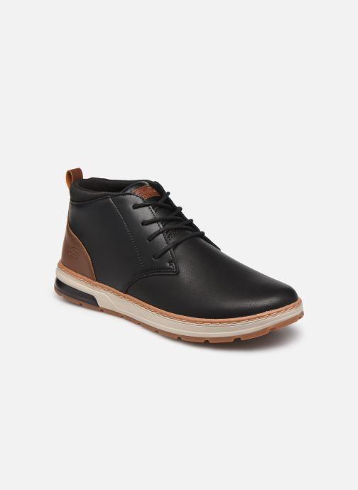 Bottines et boots Skechers Evenston High Noir vue détail/paire