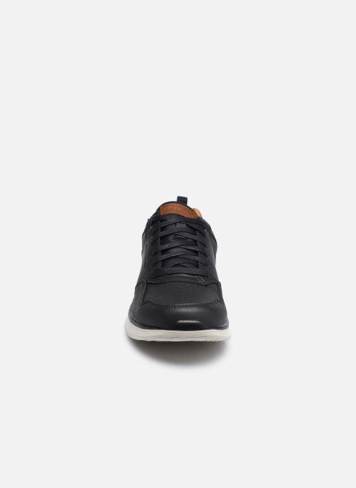 Sneaker Skechers Delson 2.0 Planton schwarz schuhe getragen