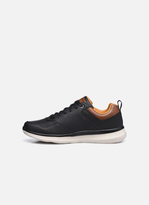 Sneaker Skechers Delson 2.0 Planton schwarz ansicht von vorne