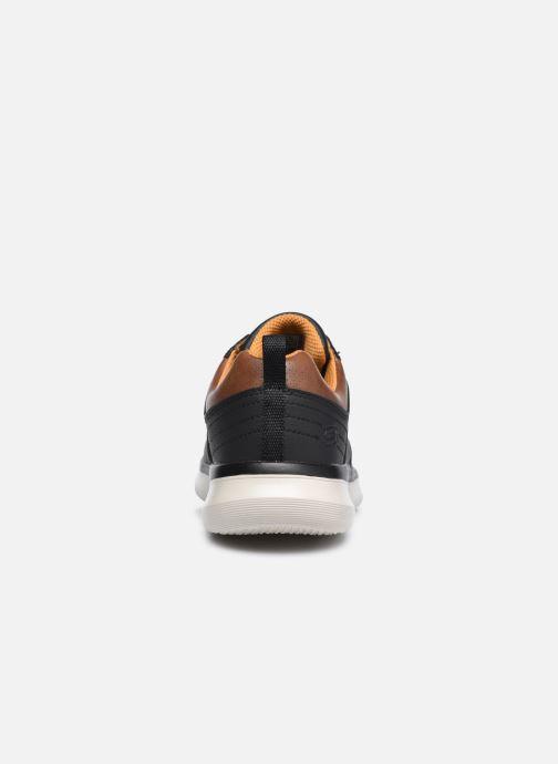 Sneaker Skechers Delson 2.0 Planton schwarz ansicht von rechts