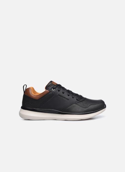 Sneaker Skechers Delson 2.0 Planton schwarz ansicht von hinten