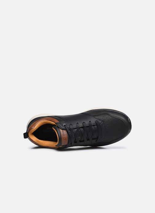 Sneaker Skechers Delson 2.0 Planton schwarz ansicht von links