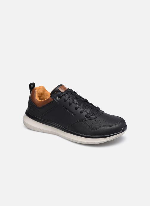 Baskets Skechers Delson 2.0 Planton Noir vue détail/paire