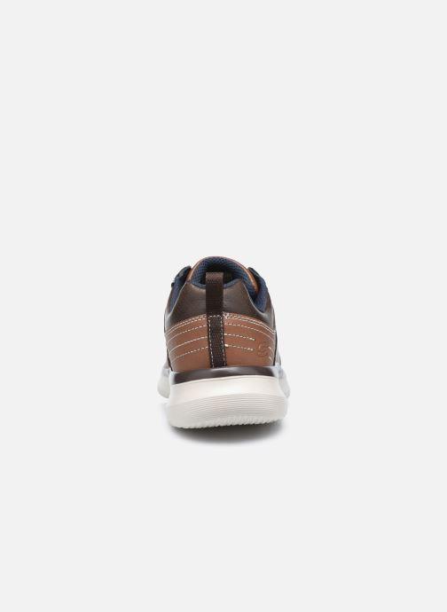 Sneaker Skechers Delson 2.0 Planton braun ansicht von rechts