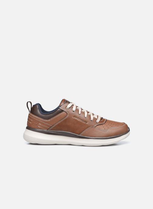 Sneakers Skechers Delson 2.0 Planton Brun se bagfra