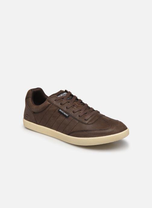 Sneakers Skechers Placer-Breacher Brun detaljeret billede af skoene