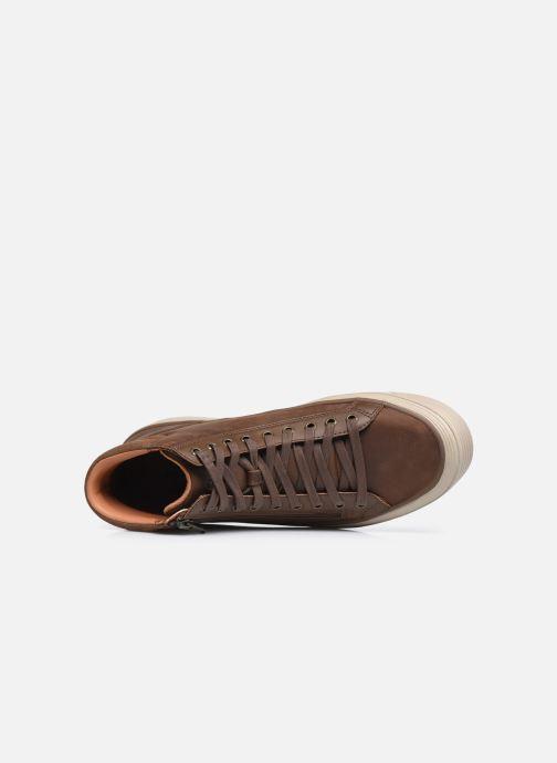 Sneaker Skechers Viewport braun ansicht von links