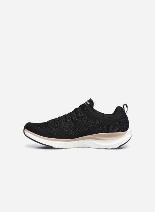 Sneaker Skechers ULTRA GROOVE-ROYAL DRAGOON schwarz ansicht von vorne