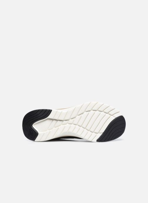 Sneaker Skechers ULTRA GROOVE-ROYAL DRAGOON schwarz ansicht von oben