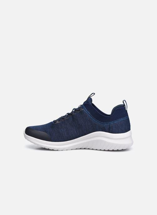 Sneaker Skechers ULTRA FLEX 2.0-FEDIK blau ansicht von vorne