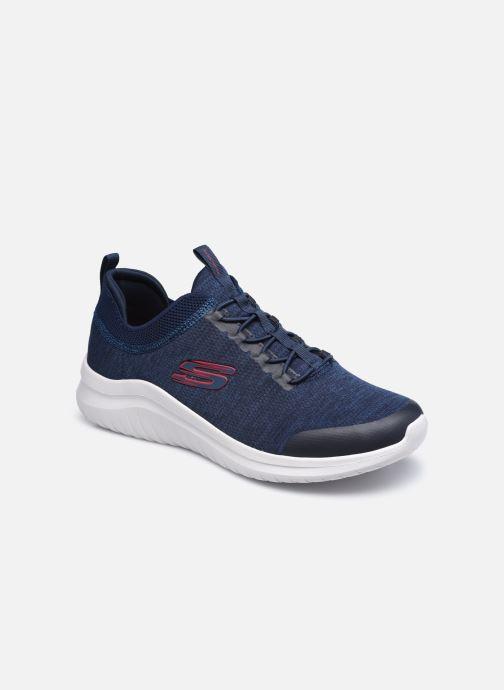 Baskets Skechers ULTRA FLEX 2.0-FEDIK Bleu vue détail/paire