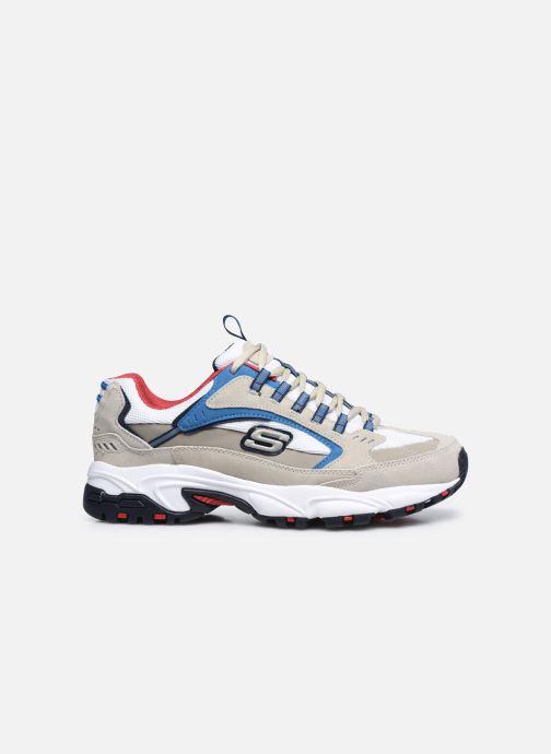 Sneakers Skechers STAMINA-CUTBACK Bianco immagine posteriore