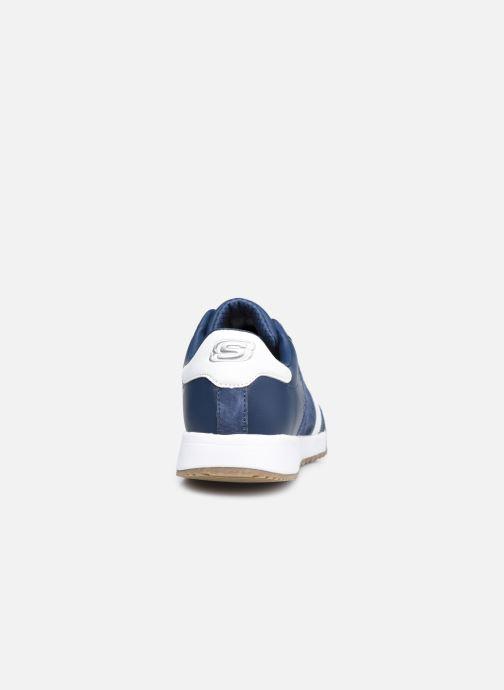 Sneaker Skechers ZINGER-SCOBIE blau ansicht von rechts