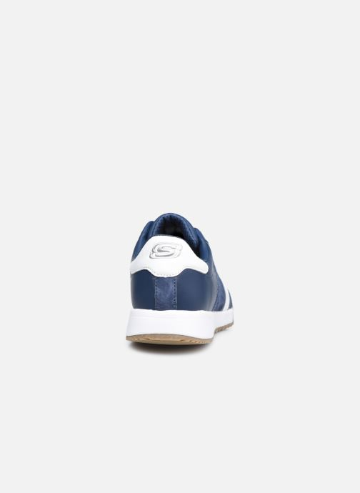 Sneakers Skechers ZINGER-SCOBIE Azzurro immagine destra
