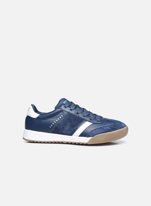Sneaker Skechers ZINGER-SCOBIE blau ansicht von hinten