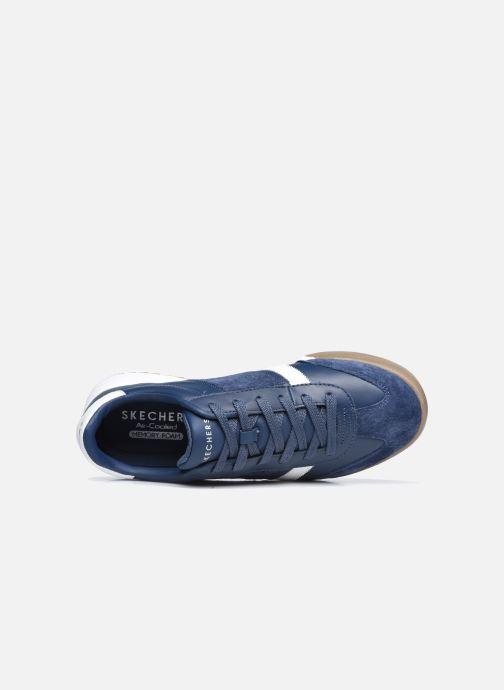 Sneaker Skechers ZINGER-SCOBIE blau ansicht von links