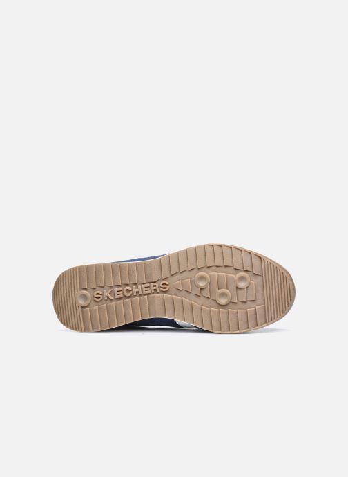 Sneaker Skechers ZINGER-SCOBIE blau ansicht von oben