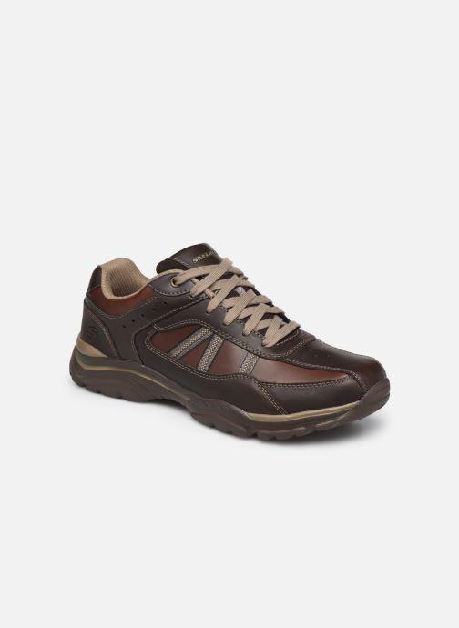 Baskets Skechers ROVATO-TEXON Marron vue détail/paire