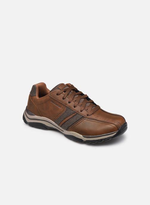 Baskets Skechers ROVATO-ENDRO Marron vue détail/paire