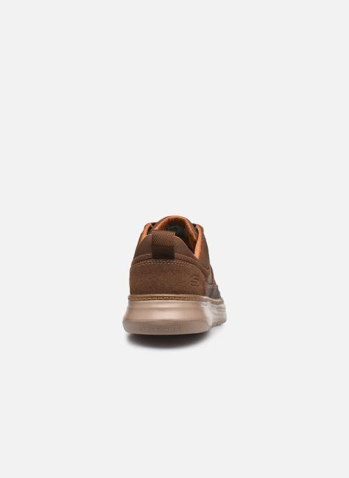 Sneaker Skechers MORENO-PENCE braun ansicht von rechts