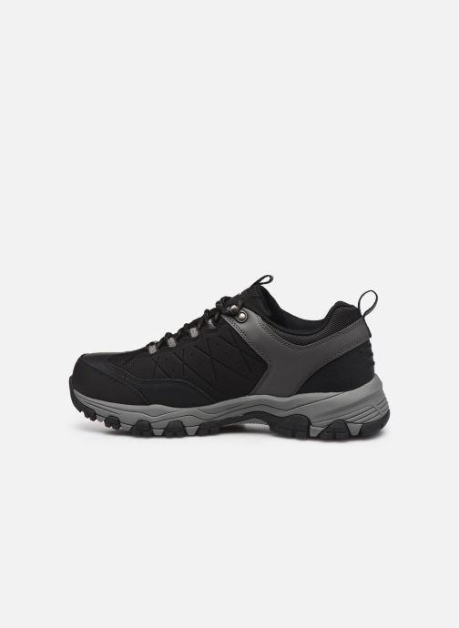 Sneakers Skechers SELMEN-HELSON Nero immagine frontale