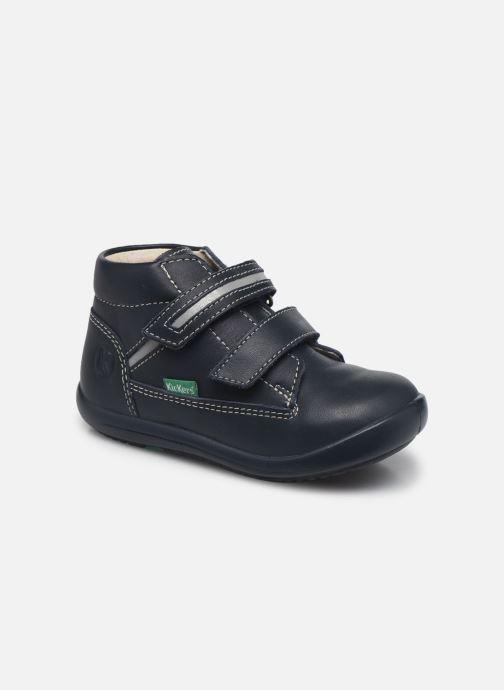 Stiefeletten & Boots Kickers Kikool blau detaillierte ansicht/modell