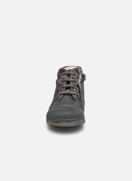 Bottines et boots Kickers Be Power Gris vue portées chaussures