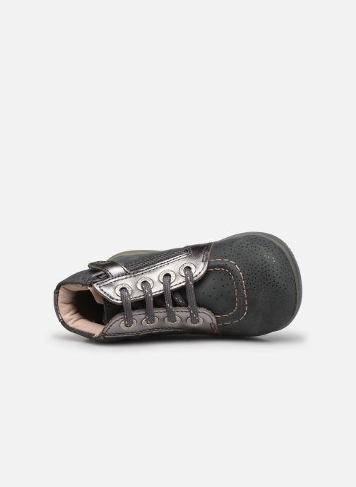 Bottines et boots Kickers Be Power Gris vue gauche